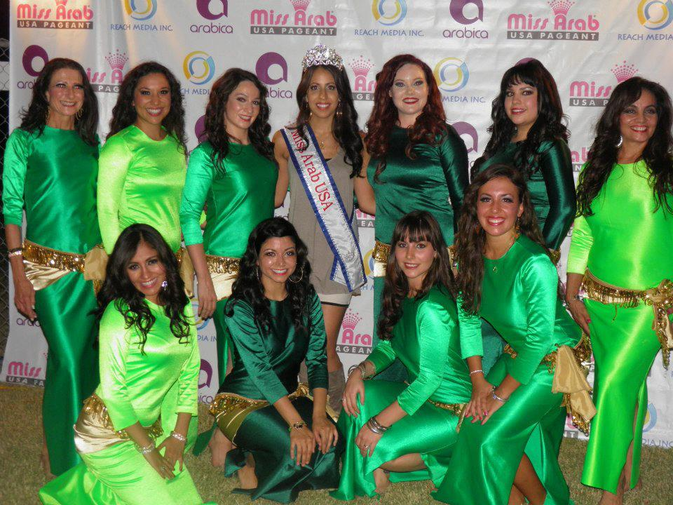 RSMC with Miss Arab USA 2012
