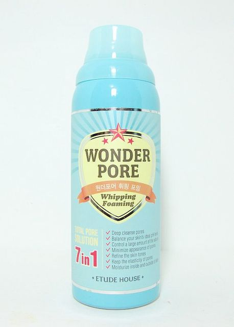 (3 Pack) ETUDE HOUSE Wonder Pore Whipping Foaming Cleanser Facial Mask Set Look Younger and Rejuvenated - 6 Masks: 24 Carat Gold, Cucumber, Red Wine, VITIMAN C, Blue Marine Algae with Collagen, Deep Pore Glycolic