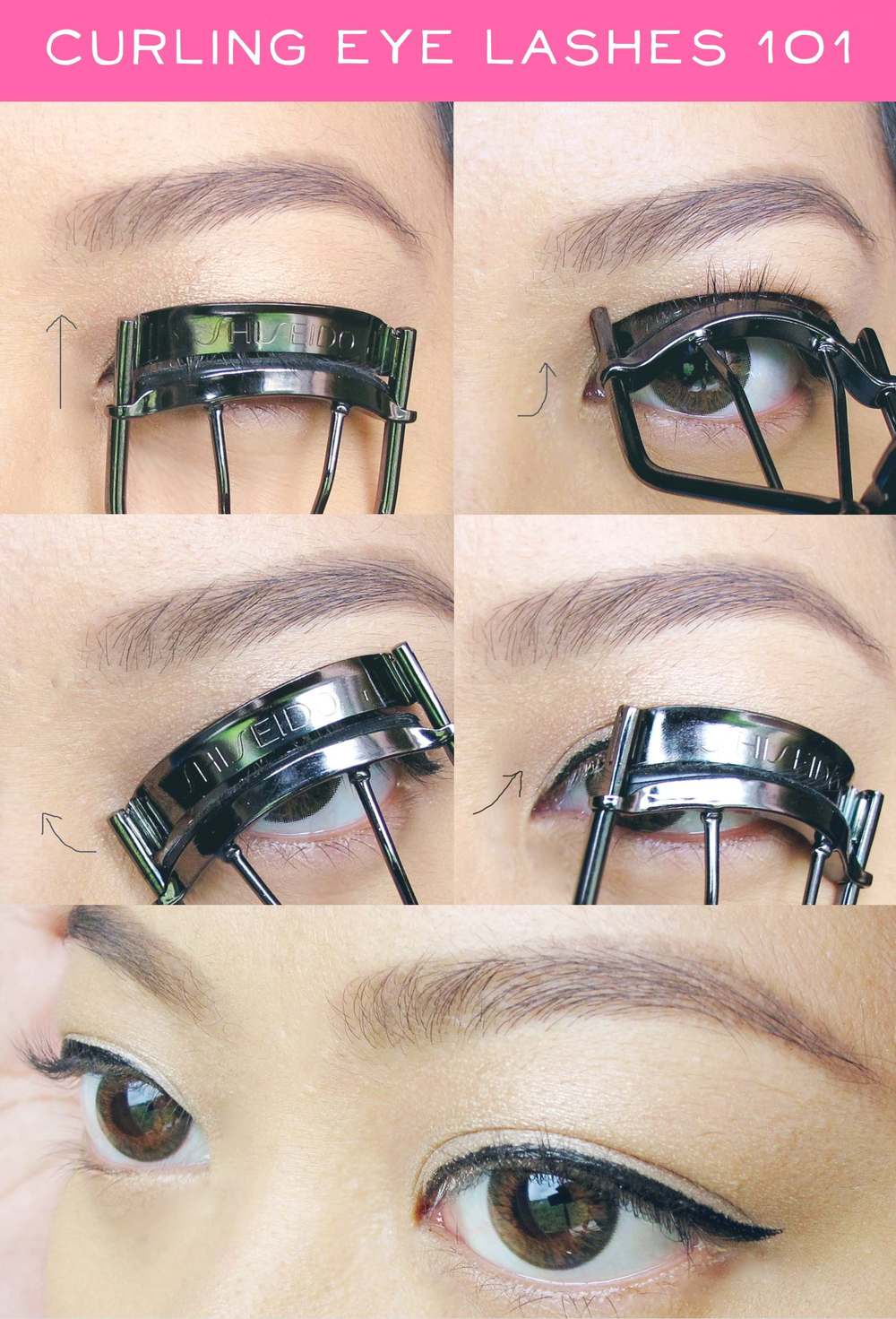 How To Curl Your Eyelashes Correctly Project Vanity