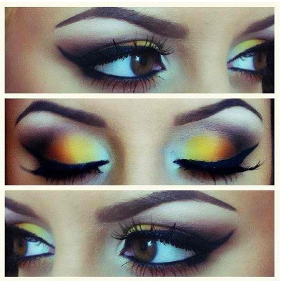 Otherwise, you have to take a step back and really look at the way you do your eye makeup. Are there obvious demarcation lines between colors?