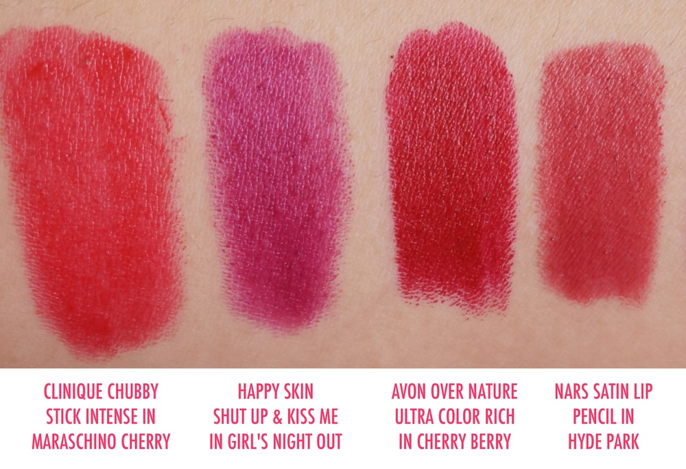 Apologies for the typo - the Clinique lippie is named  Mightiest Maraschino!