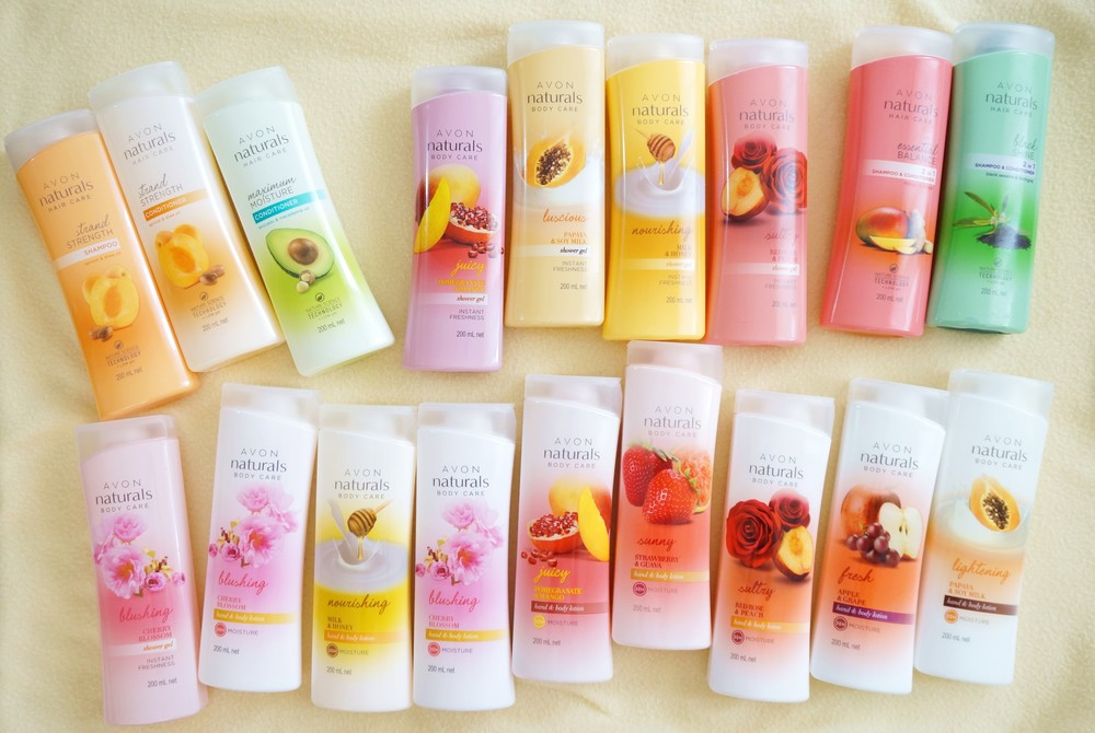 Delightfully delicious: Avon Naturals Body and Hair Care