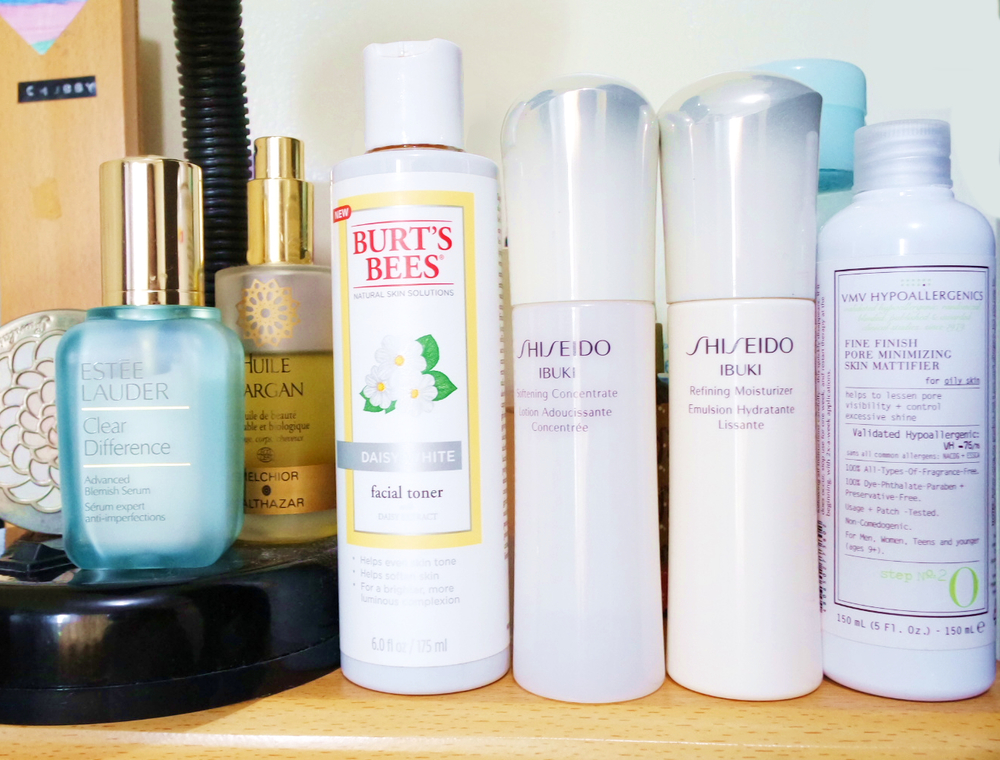 products Ingredients in facial