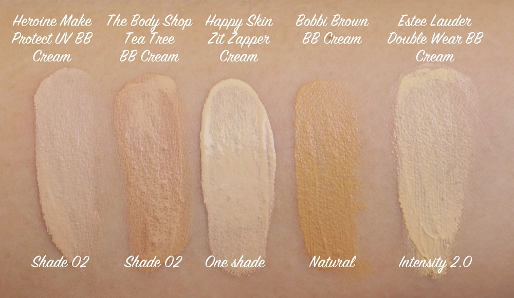 The shades look so varied for my skin tone but they blend in easily enough. As long as the shade isn't too white or too pink/grey then it's fine, I find!