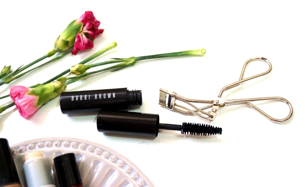 Bobbi Brown Extreme Party Mascara and Shiseido mini lash curler