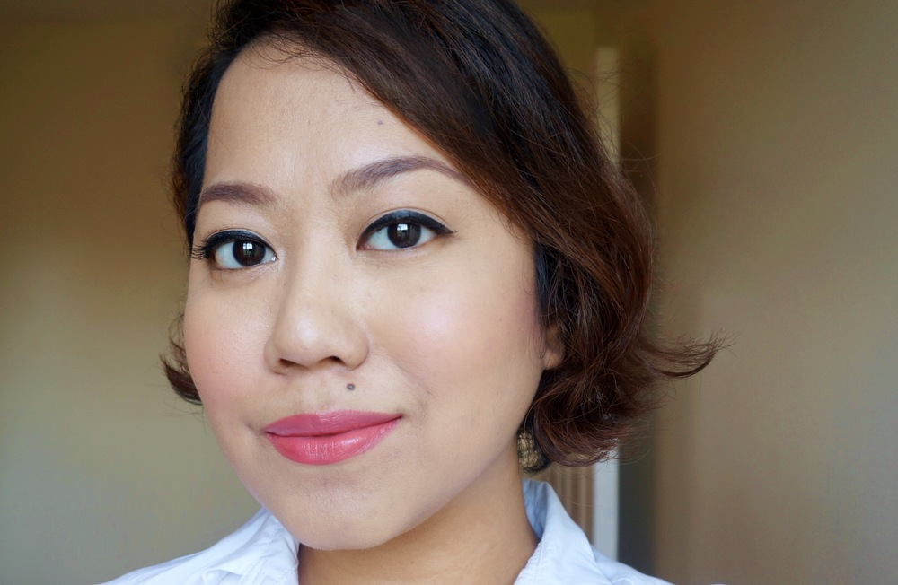 On the lips: Shut Up & Kiss Me Lippie in Hold My Hand / Cheeks: Get Cheeky With Me 2-in-1 Blush