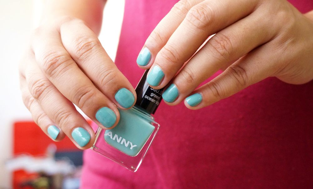 NOTD: Anny Nail Polish in Green Ocean Trip — Project Vanity