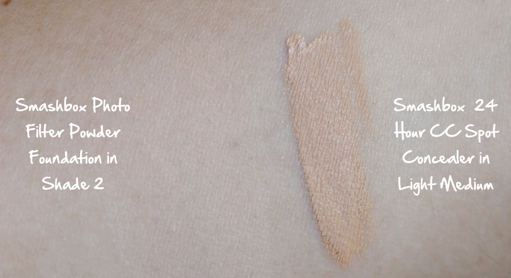 New From Smashbox Photo Filter Creamy Powder Foundation And The Cc