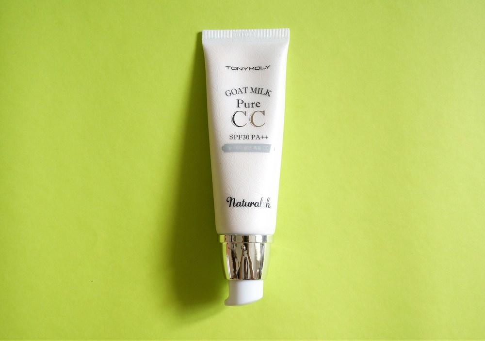 Kết quả hình ảnh cho Naturalth Goat Milk Pure CC Cream SPF30 PA++