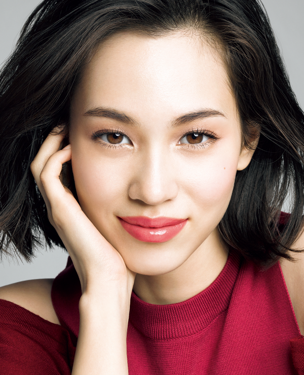 Kiko Mizuhara for Shiseido Maquillage (Image via teammizuhara.tumblr.com)