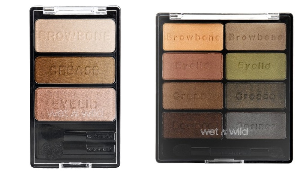 Left: Walking on Eggshells, Right: Comfort Zone Image via wetnwildbeauty.com