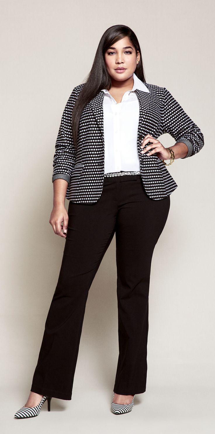 how to power dress to impress at your job interview project vanity image via plussize outfits com