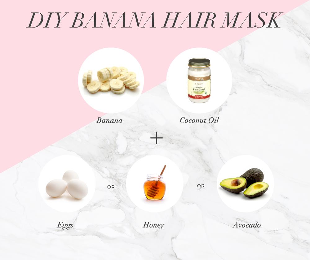 Luscious Hair The Natural Way Try This Quick Diy Banana Mask