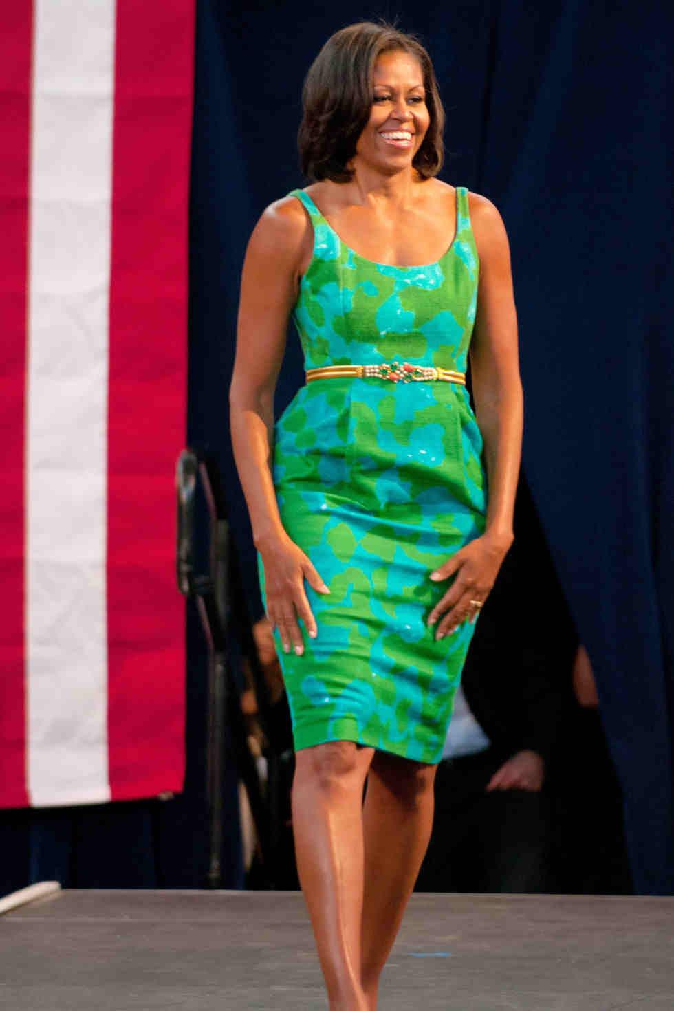 Michelle Obama (via harpersbazaar.com)