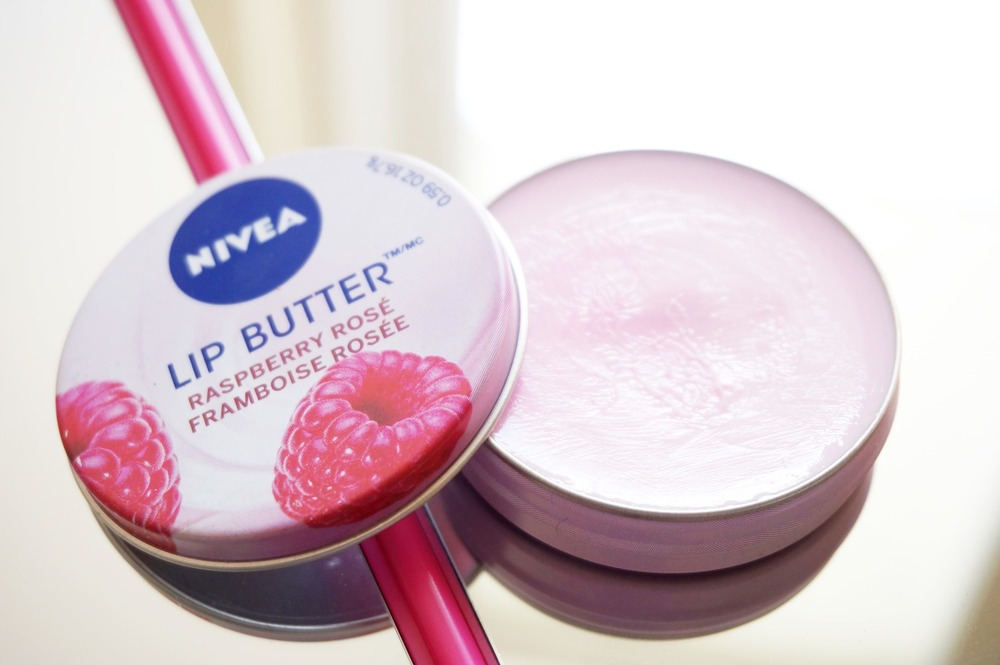 For the record, Nivea lIp butters are pretty good! Just using the photo for reference. :P And yes you can definitely use it for dry patches as well!