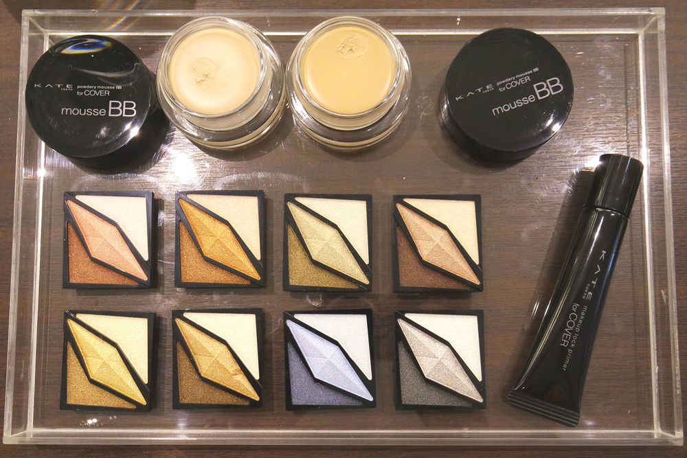 The latest releases include shimmery, metallic shadows, a BB mousse, and a primer!