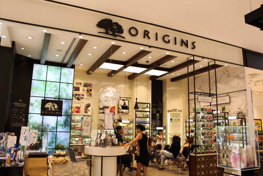 The Origins store at SM Makati
