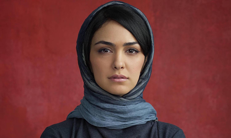 Iranian-born actress Nazanin Boniadi Image via theguardiancom