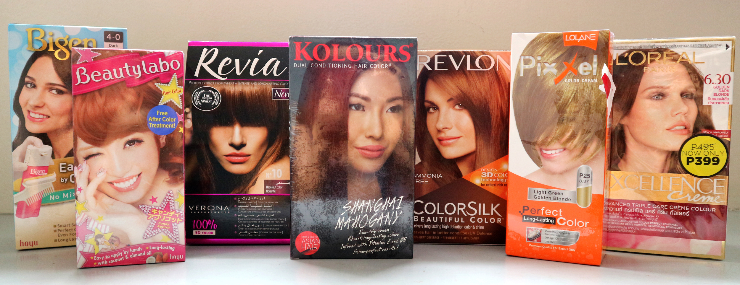 Gorgeous Hair In A Box Find Your Affordable Hair Color At Watsons