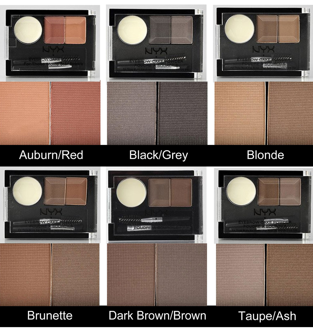 Budget Beauty Eight Eyebrow Powders Under P500 Project Vanity