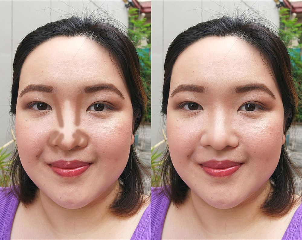 Nose contouring, three ways: Here's how to get a narrower nose ...