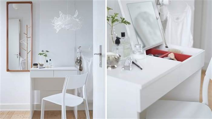 Brimnes dressing table (Image via today.com)