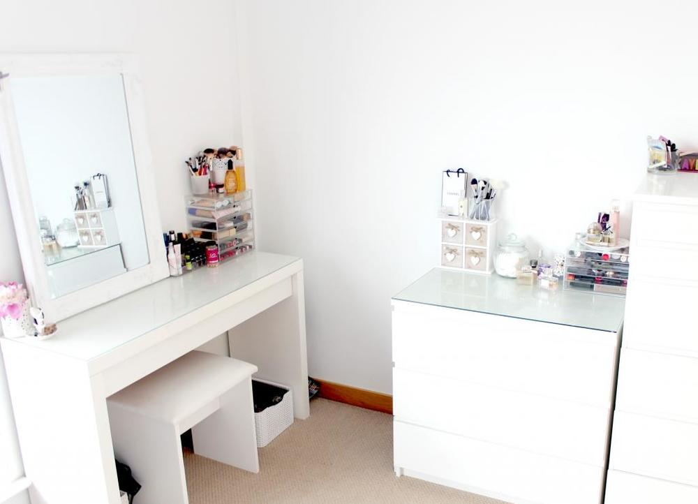 Five ikea pieces to add to your kikay wish list project for Vanity tables ikea