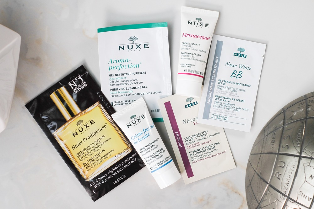 If you want to try the Nuxe line, you can get these samples with our Wanderlust Kit at the  Project Vanity Store .