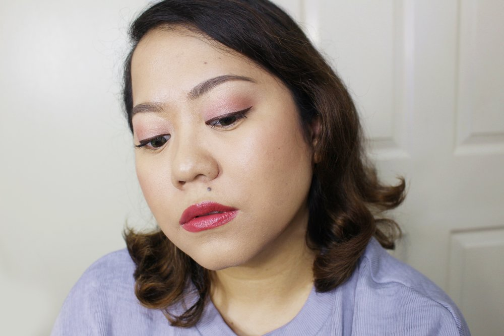 Used just two shades here to create a delicate pink look! Used Flamingo on the lids then Rose Blanket on the crease.