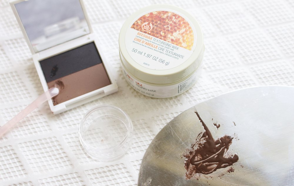 A Crazy Easy Diy How To Make Your Own Eyebrow Pomade And Mascara