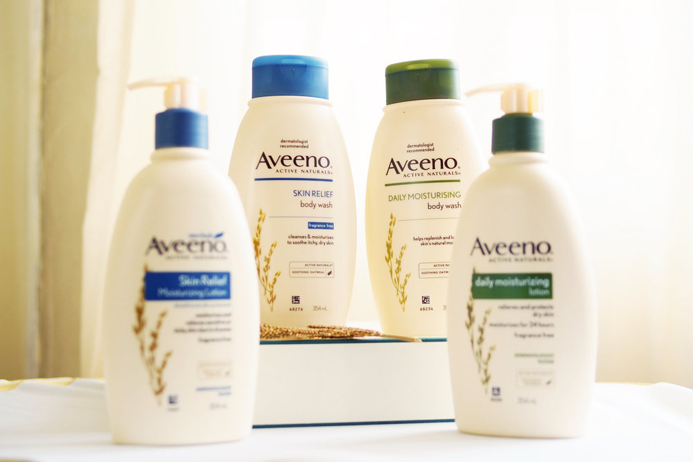 Finally in the PH: Aveeno Active Naturals for sensitive skin