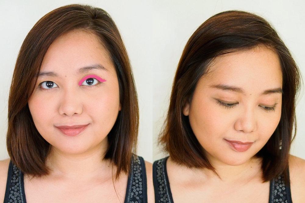 As eyeliner