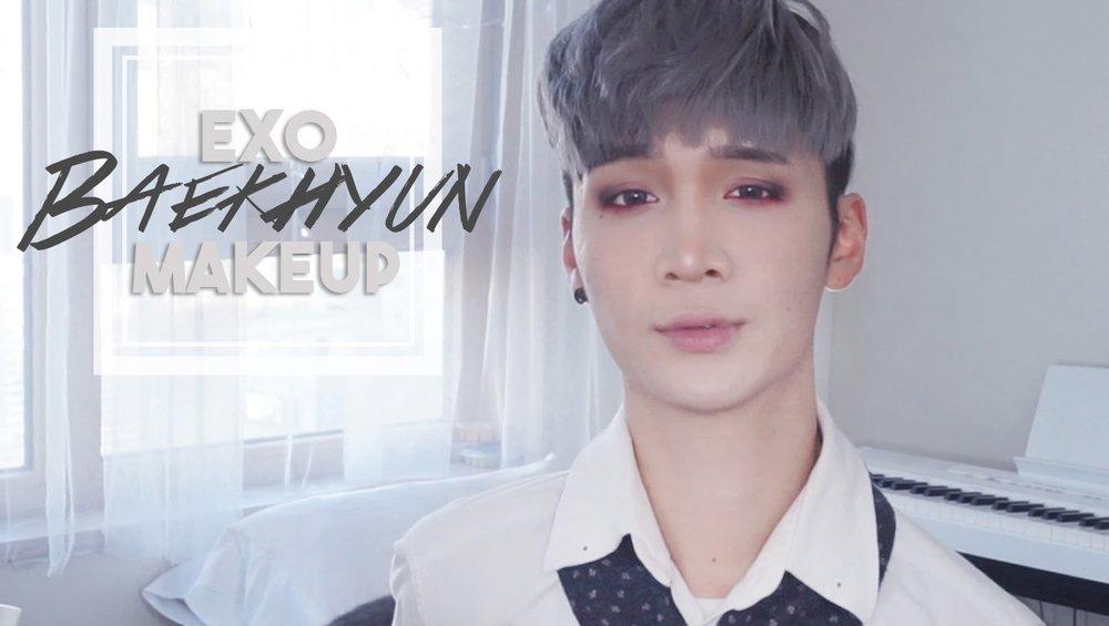 Kpop Makeup For Guys Korean Guy Eye Makeup ...