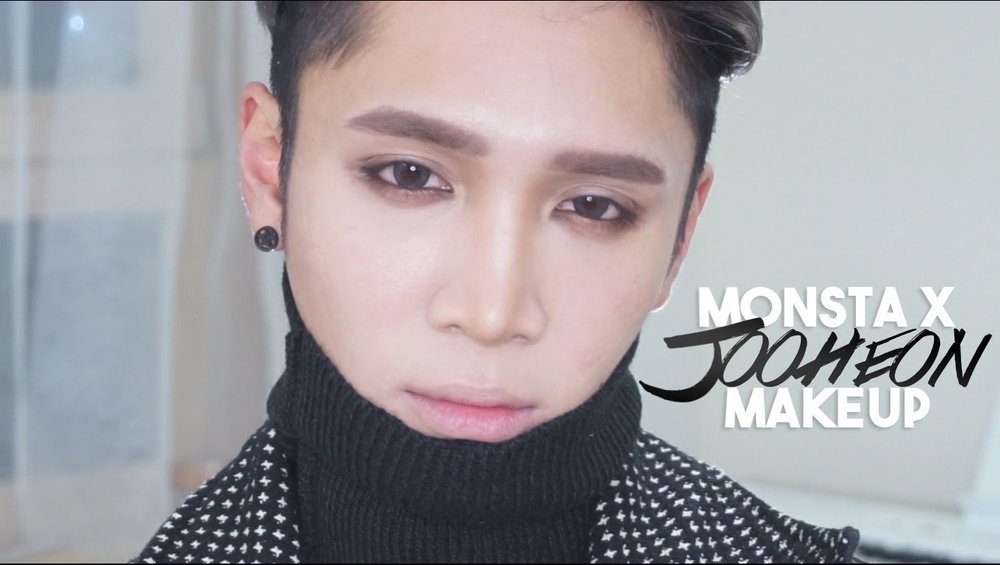 how to use makeup to look male