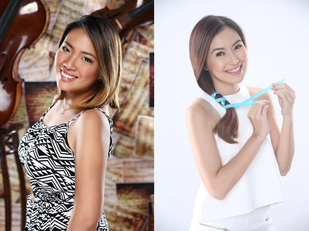 Nybie Ng and Angela Nepomuceno