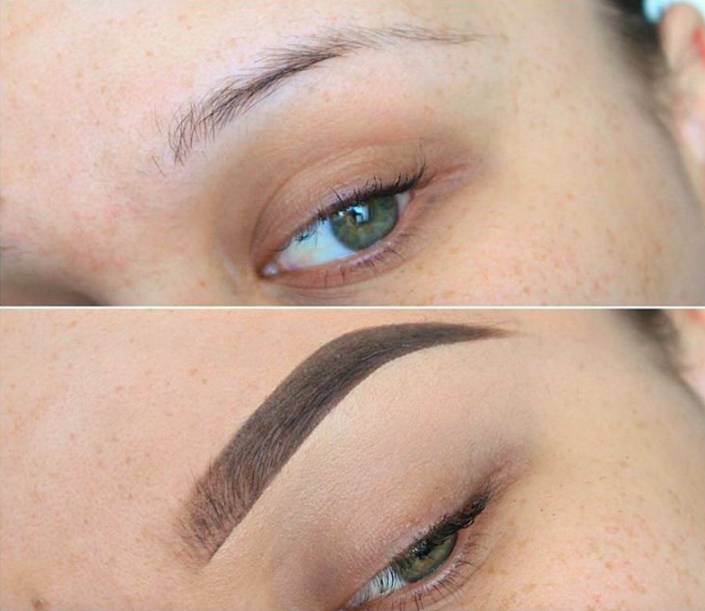 50% eyebrows, 50% makeup! Image via @anastasiabeverlyhills on Instagram