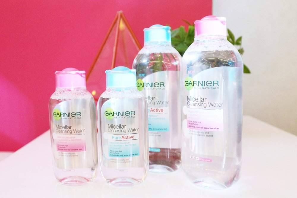 SkinActive Micellar Cleansing Water All-in-1 Cleanser & Makeup Remover by garnier #4