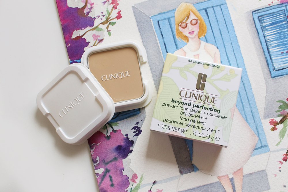 Quickie Review: The Clinique Beyond Perfecting Powder Foundation + Concealer