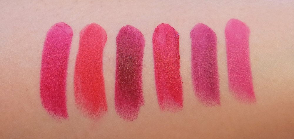 5eaa2e6b2ab Swatches  The Clinique Pop Collection has bright colors you need in ...