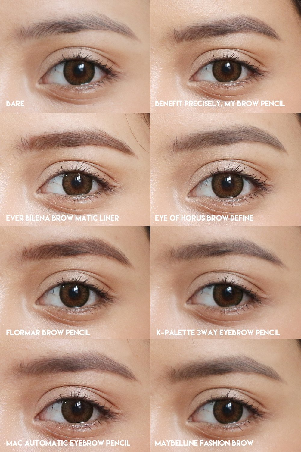 418558f6d23 The Battle of the Eyebrow Pencils: Which brand wins? — Project Vanity