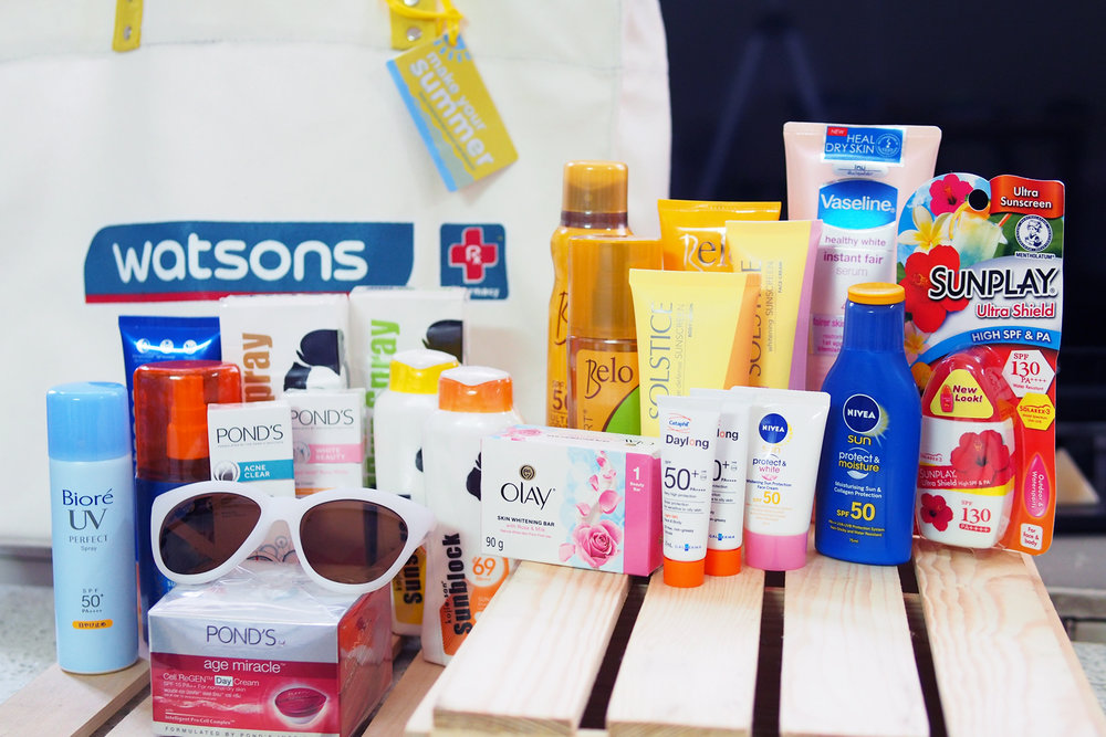 Top 18 SPF products from Watsons to keep you literally covered this summer