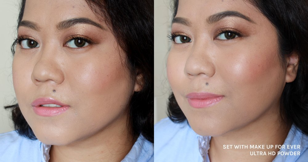 The Ultra HD enhances my makeup look rather than flatten it. It's like an invisible filter for the skin!