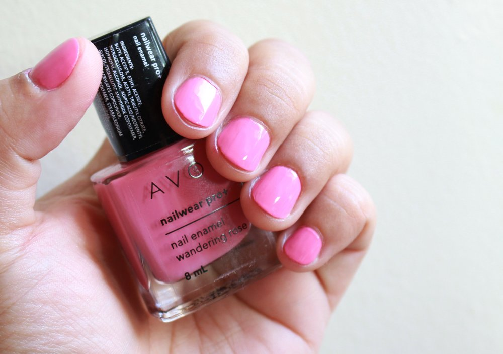 Avon nail polish in Wandering Rose