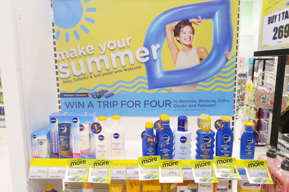 Buy sunscreen and win a trip to wear it on!