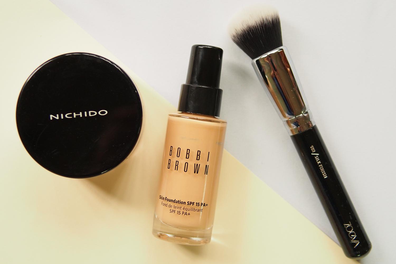 Oily Skin Hack Setting Powder Before Foundation Spoiler Alert It Works Project Vanity