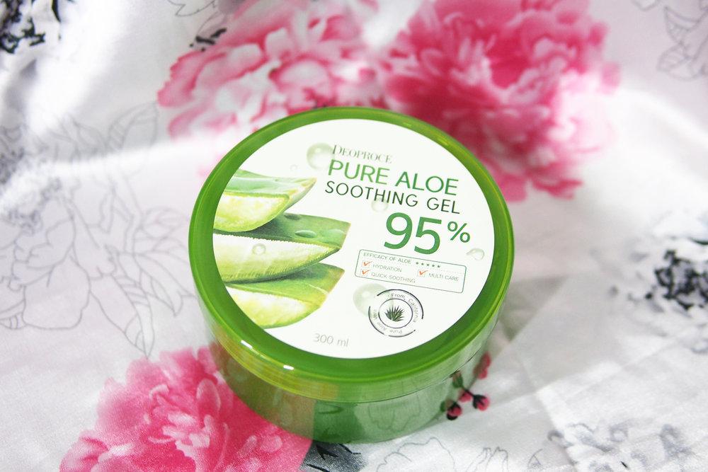 Картинки по запросу Deoproce 95% Pure Aloe Soothing Gel