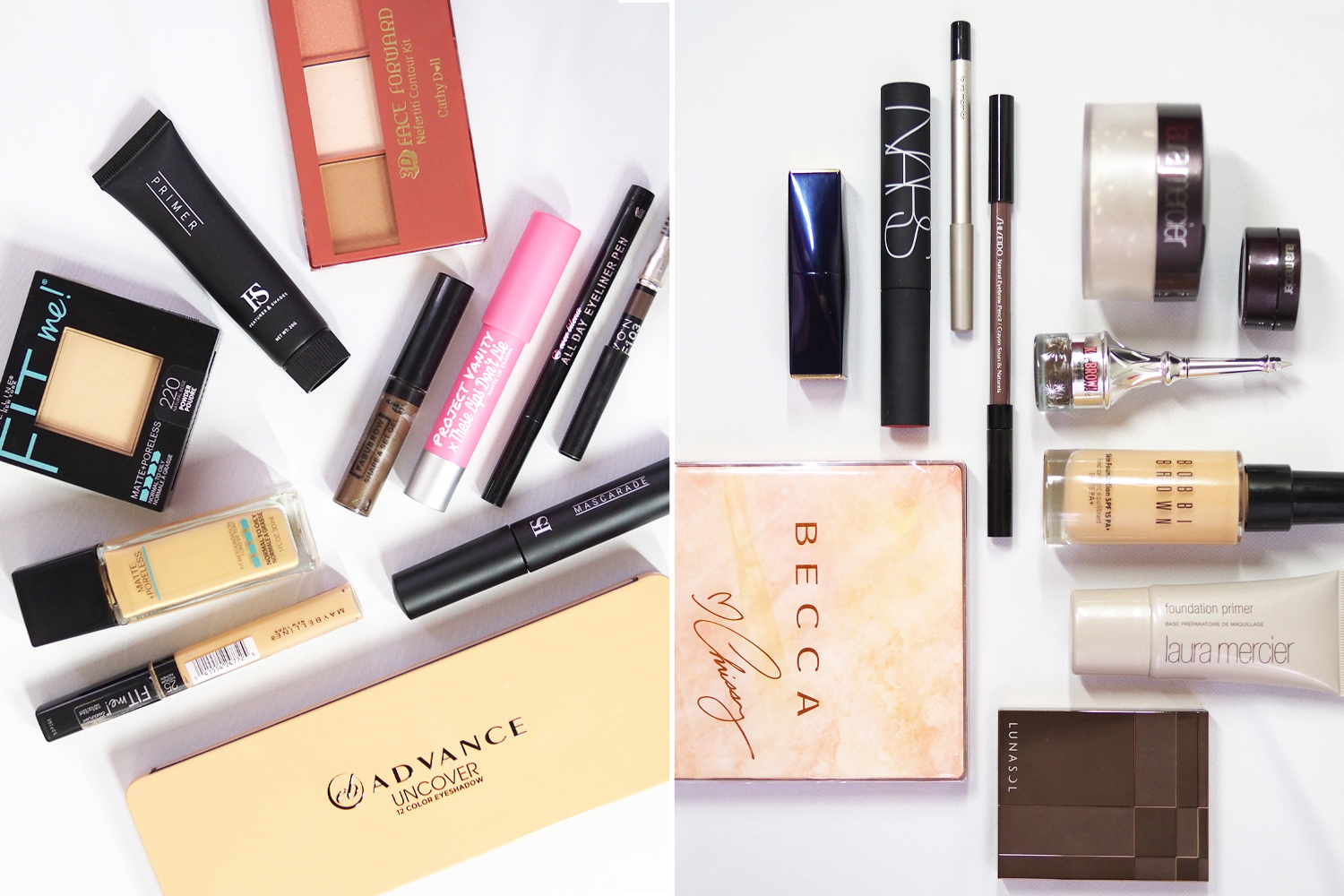 The Beauty Throw Down  Affordable versus high-end makeup ... e82f00c49