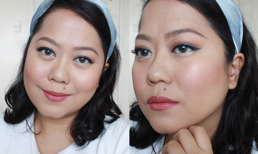 Freshly applied: the Pink Sugar Our Lil Secret Foundation + Concealer on my under eyes