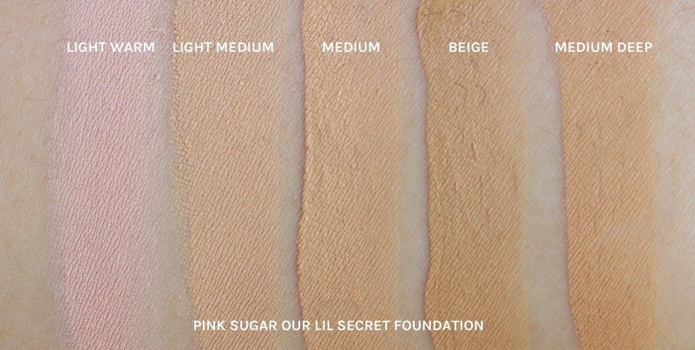 Review Swatches Pink Sugar S New P399 Foundation And