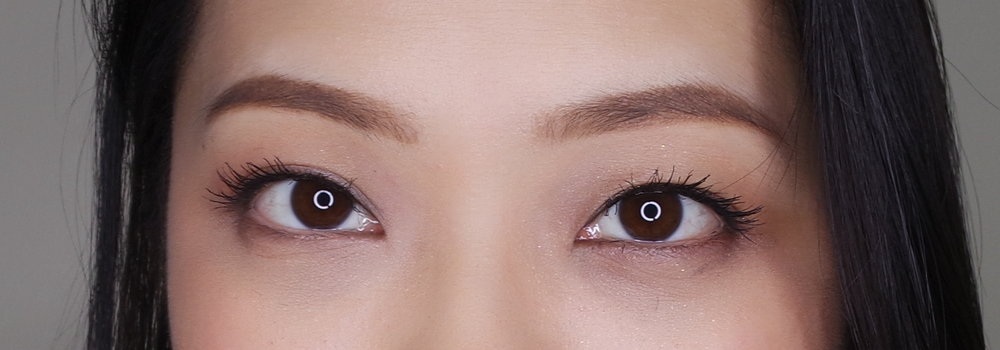 The PV Way of curling + mascara